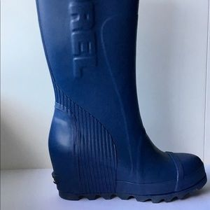 Sorel Joan Wedge Tall Rain Boots